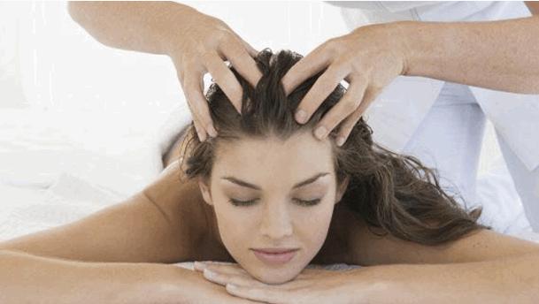 Tratamiento para la caída de pelo - Masaje capilar